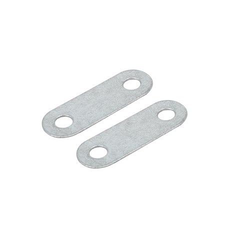 30mmx10mmx0.5mm Flat Straight Mending Plate Repair Fixing Connector 50pcs - image 1 of 3