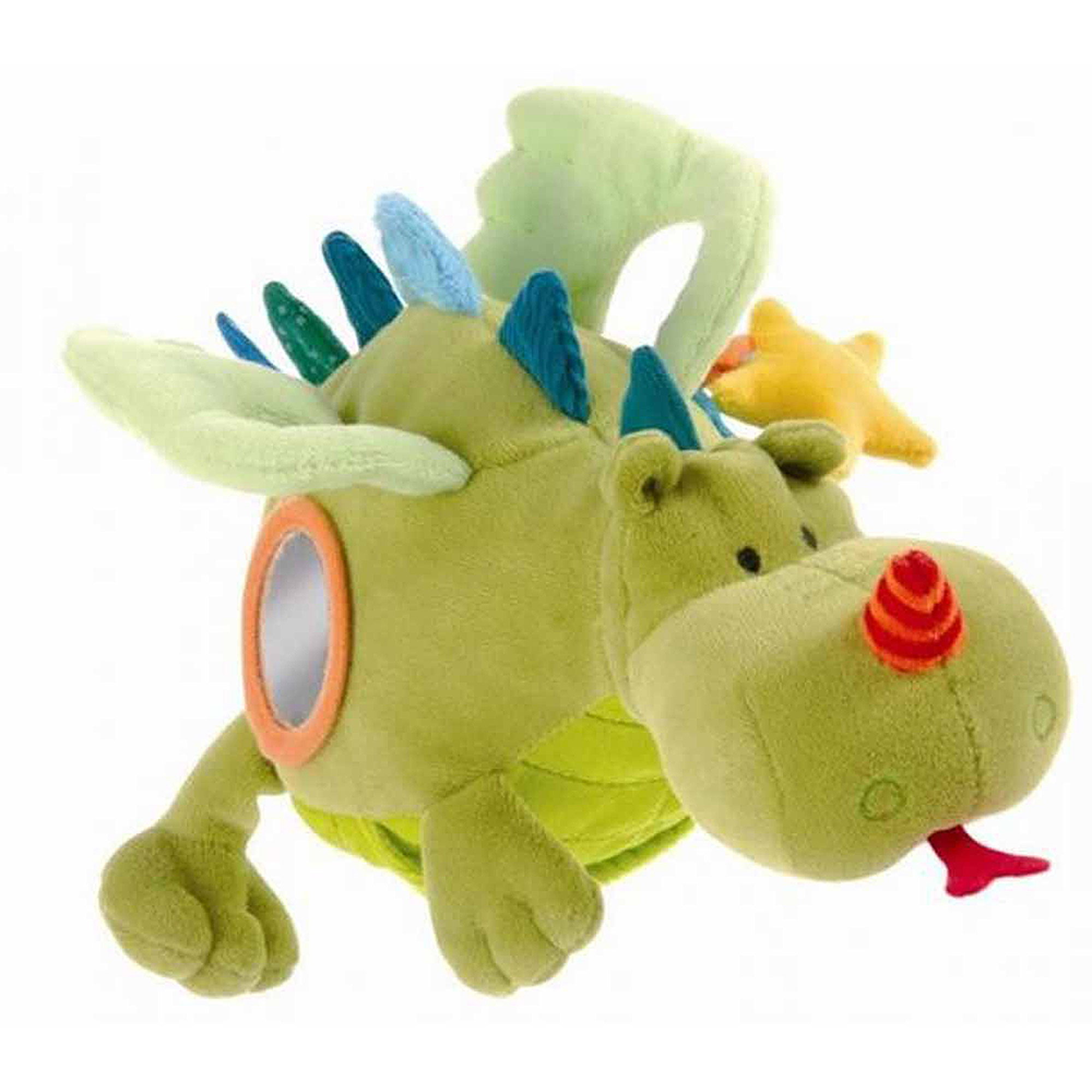 Lilliputiens Walter Acti-Dragon Interactive Rattle Toy by Lilliputiens