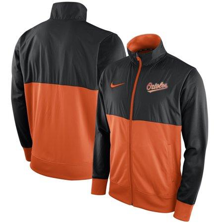 - Baltimore Orioles Nike Full-Zip Track Jacket - Black