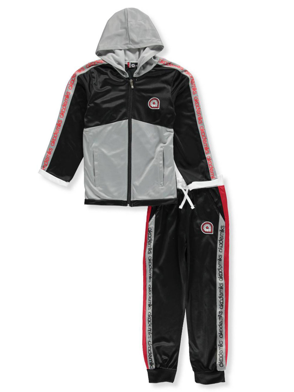 Akademiks Boys/' 2-Piece Tricot Sweatsuit Pants Set