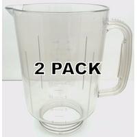 2 Pk, Plastic Blender Jar for KitchenAid Blenders, KSB3 & KSB5, KSBGGC 9704200P