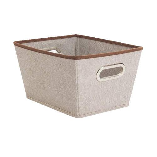 Canopy Medium Storage Bin, Rich Brown