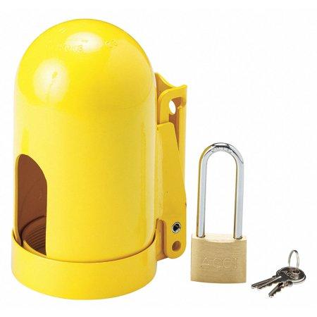 Locking Cylinder Cap, Fine Thread, Steel, 11 UNF Thread Size, 9-31/32