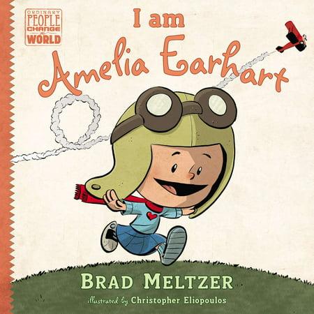 I am Amelia Earhart - Amelia Earhart Child