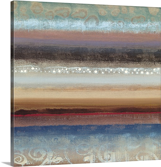 Great BIG Canvas | Selina Werbelow Premium Thick-Wrap Canvas entitled Fusion I