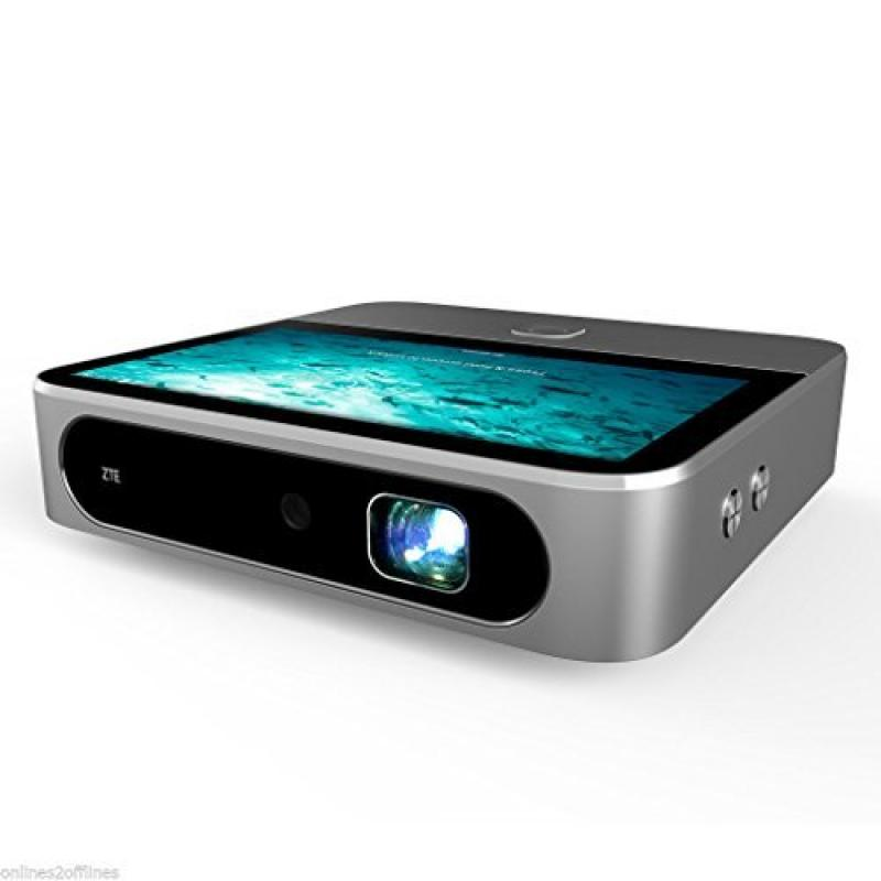 Mascarello®ZTE SPRO 2 HD Touch Smart Projector 4G WiFi An...