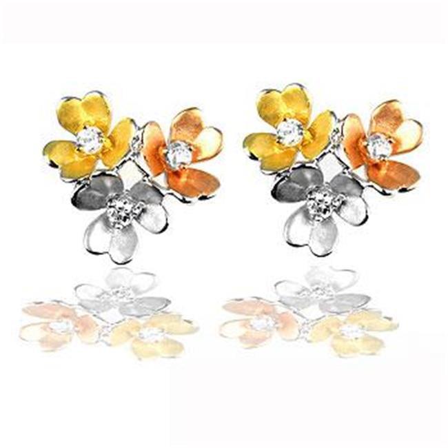 Kate Bissett E20079T-V01 Cluster Blossom Earrings