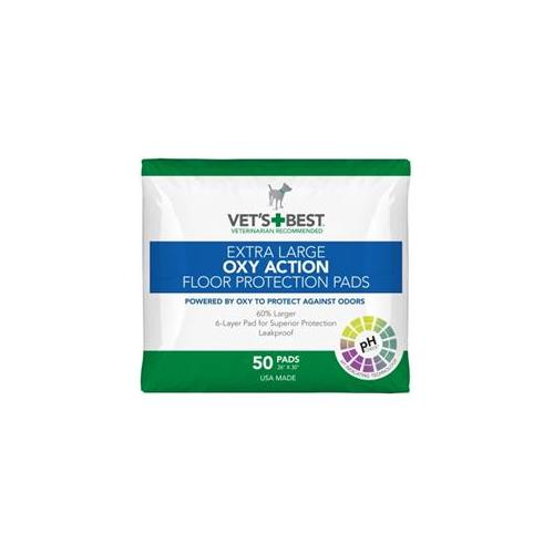 Vet's Best Extra Large OXY ACTION Floor Protection Pads 2...