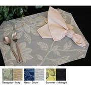 Pacific Table Linens Bouquet Reversible Placemat (Set of 2)