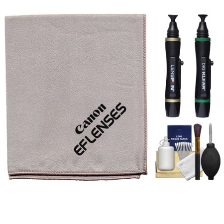 Buy Canon Microfiber Cloth, Hurricane Blower, Brush, Fluid, Tissue & LensPen Cleaning Kit for EF Lenses & EOS 6D, 70D, 7D, 5DS, 5D Mark II III, Rebel T5, T5i, T6i, T6s, SL1 DSLR Camera Before Special Offer Ends