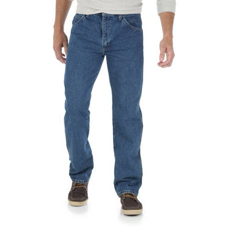 Hugger Fit Denim - Wrangler Men's Regular Fit Jeans