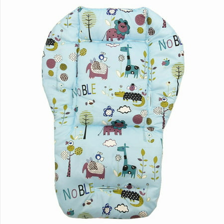Cartoon Pushchairs Seat Liner Baby Pram Stroller Cushion Seat Pad Soft Double Side Thickened Widen Mat;Cartoon Pushchairs Seat Liner Baby Pram Stroller Cushion Seat Pad Soft
