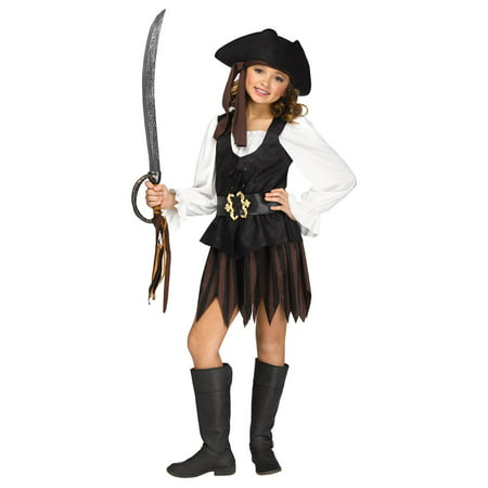 Rustic Pirate Maiden Child Costume - Idee Original De Costume D'halloween