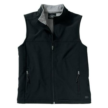 Charles Microfiber Vest - Charles River Men's Soft Shell Vest