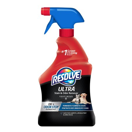 Resolve Ultra Stain & Odor Remover For Pet Messes, (Best Pet Odor Remover From Carpet)
