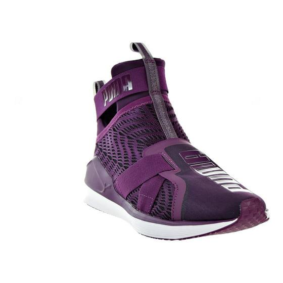 f968a142fd5 PUMA - Puma Fierce Strap Swirl Womens Shoes Dark Purple Puma White ...