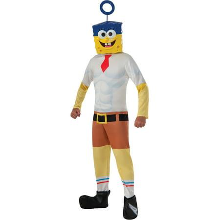 Kid's Boys SpongeBob Invincibubble Costume With Mask - Spongebob Diy Costume