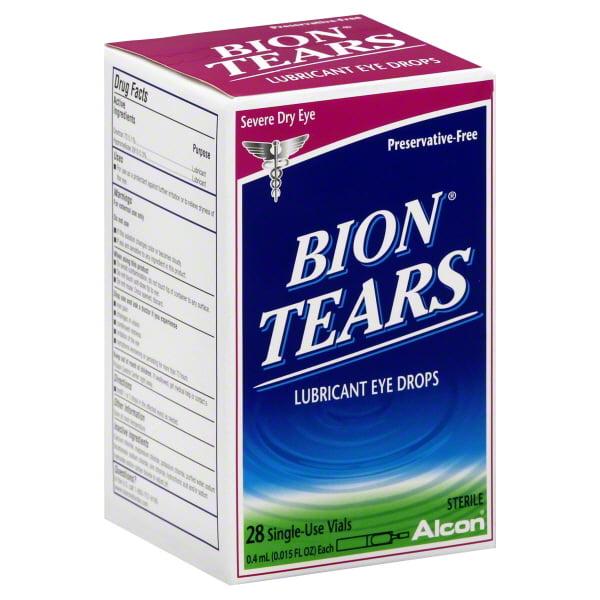 Alcon Alcon Bion Tears Eye Drops, 28 ea