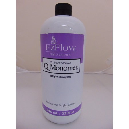 Ezflow Q Monomer Acrylic Nail Liquid 32oz 66071