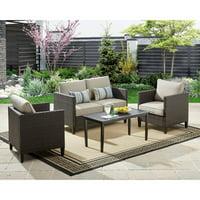 Better Homes and Gardens Avila Beach 4-Piece Conversation Set