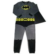 Batman Men's Gray Union Suit with Cape, Large