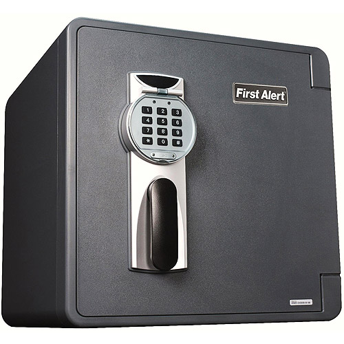 First Alert 2092DF 1.31 Cubic Foot Waterproof 1-Hour Fire Safe with Digital Lock