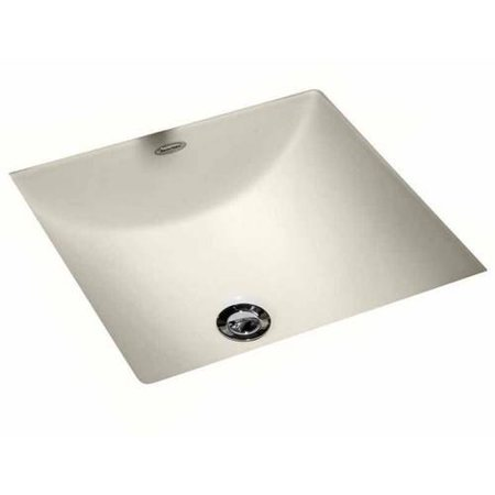 American Standard 0426.000.020 Studio Carre Square Undermount China Sink, Available in Various - Undermount Square