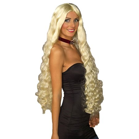 Blonde Mesmerelda Adult Halloween Costume Accessory Wig