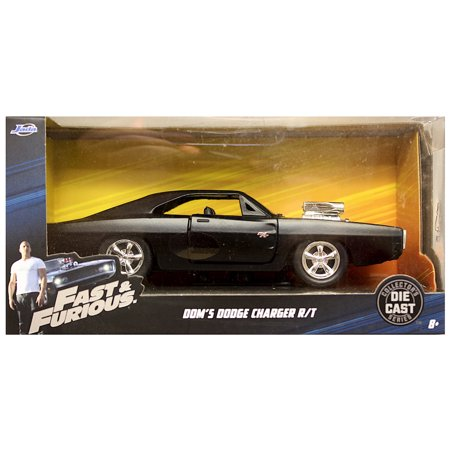 Dom's Dodge Charger R/T Fast & Furious Jada Diecast Vehicle 1:32