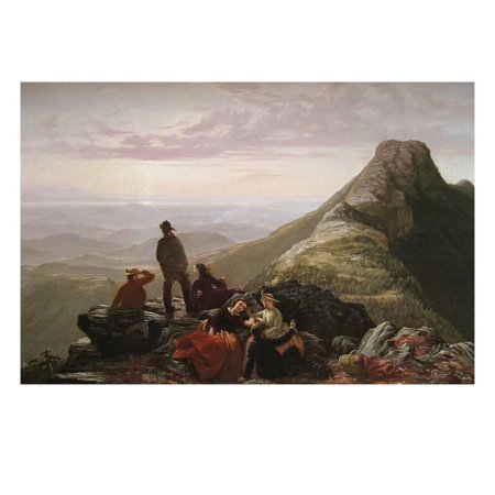 The Belated Party on Mansfield Mountain Print Wall Art By James B. Thompson for $<!---->