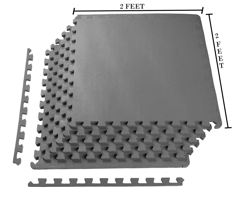 Eva Foam Mat With Interlocking Tiles