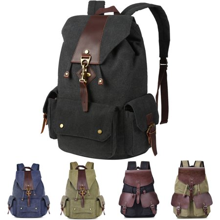 Vbiger - Canvas Backpack for Women Men 93c89cd1c8775