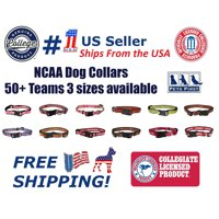 Pets First College Texas Tech Raiders Pet Collar, 3 Sizes Available, Sports Fan Dog Collar - Large