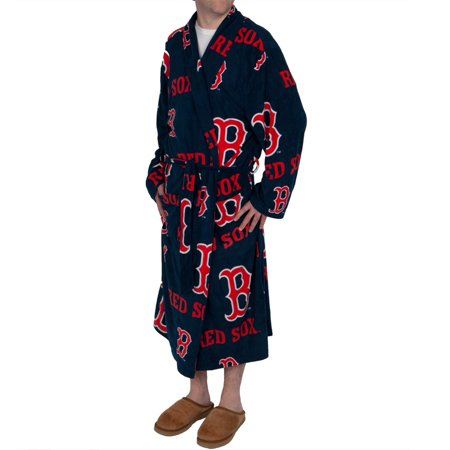 Boston Red Sox Logo All-Over Bathrobe by