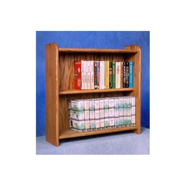 Wood Shed 207 Solid Oak Cabinet for DVDs, VHS tapes, books and more