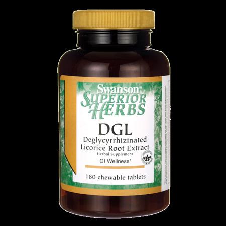 - Swanson Dgl (Licorice) 385 mg 180 Chwbls