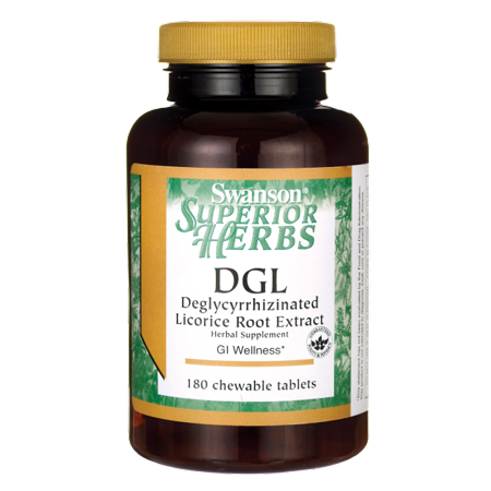 - Swanson Dgl (Licorice) 385 mg 180 Chwbls