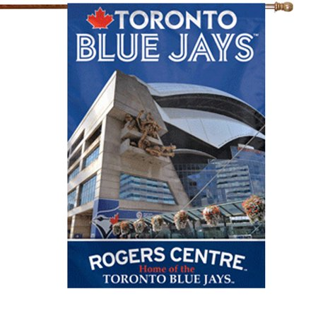 Toronto Blue Jays Rogers Centre Double-Sided 28'' x 40'' Banner - No Size