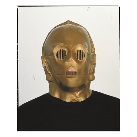 3po Costume (Star Wars C-3Po Deluxe Vinyl Mask Halloween Costume)