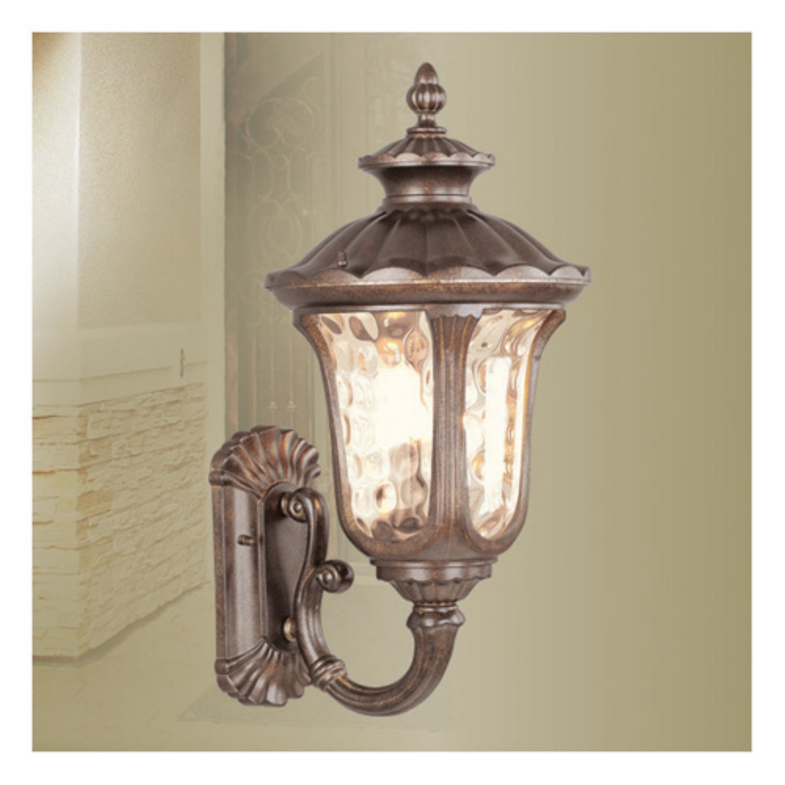 Livex Lighting Oxford 3 Light Outdoor Wall Lantern