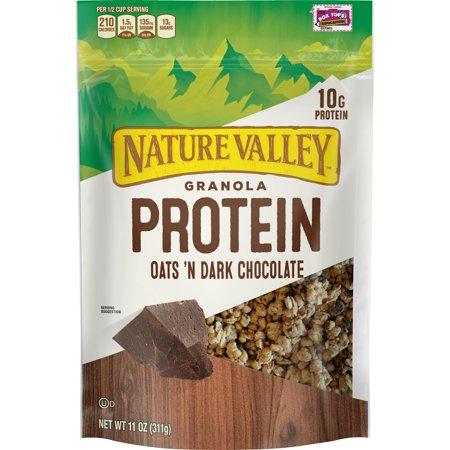 Nature Valley Protein Granola Oat & Dark Chocolate 11
