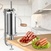 Best Sausage Stuffers - Costway Stainless Steel Vertical Sausage Stuffer 3L Maker Review