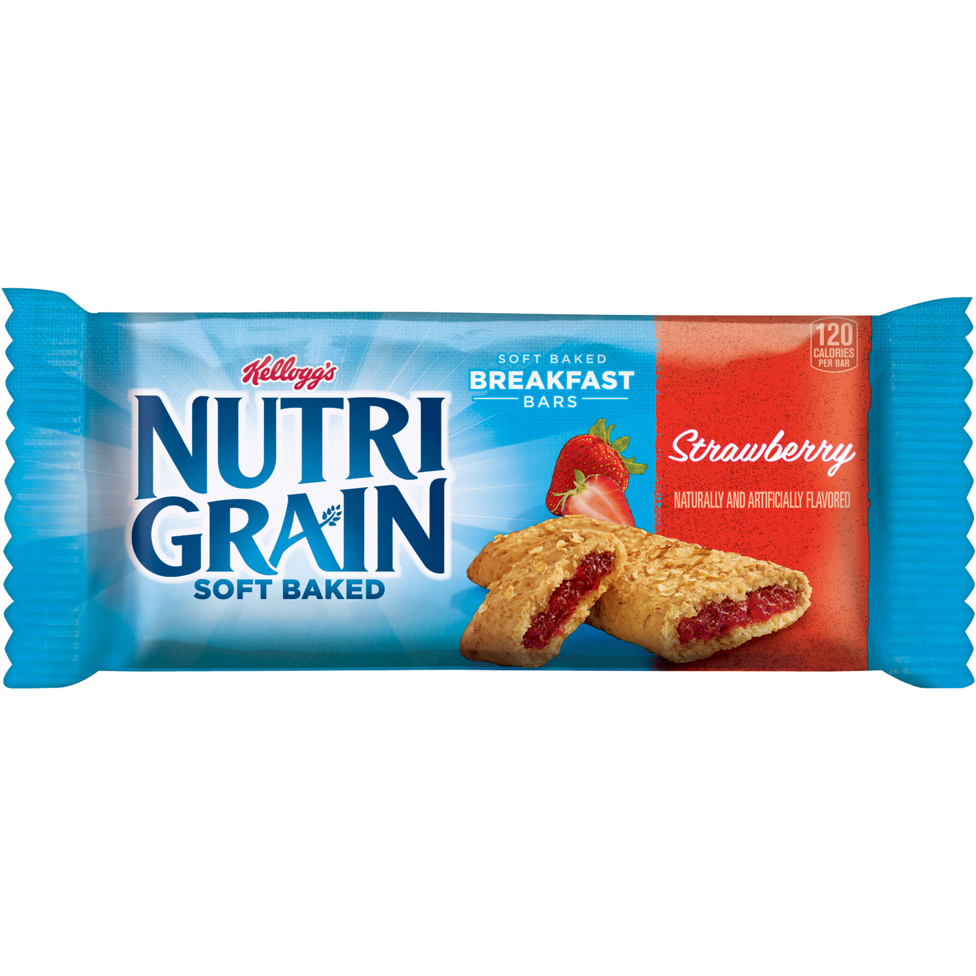 Kellogg's Nutri-Grain Soft Baked Strawberry Breakfast Bar, 1.3 oz