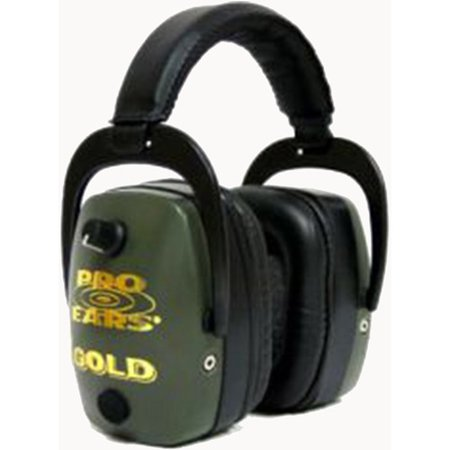 Pro Ears Pro Tac Mag Gold Green