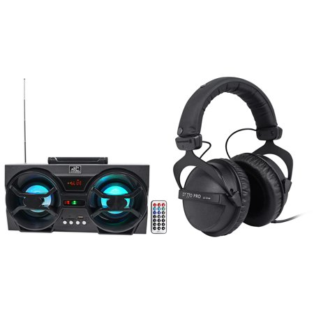 Beyerdynamic DT-770-PRO-32 Ohm Studio Headphones + Free Bluetooth Speaker !