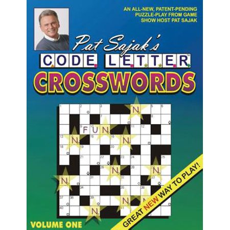 Pat Sajak's Code Letter Crosswords - Save On Crafts Coupon Code