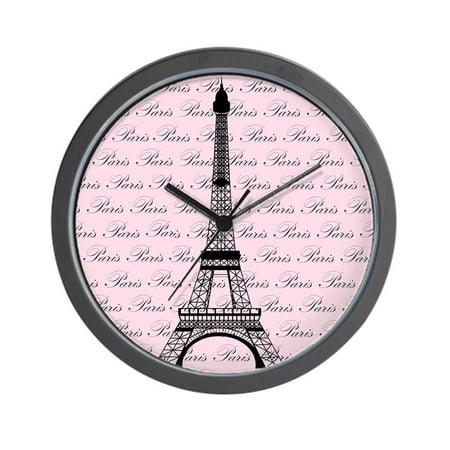 CafePress - Pink And Black Paris Eiffel Tower - Unique Decorative 10