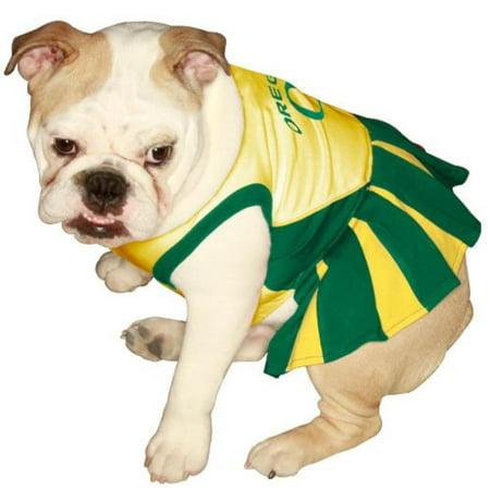 big sale a178e ba5c5 OREGON DUCKS DOG Cheerleader Outfit, Medium, 100-Percent ...