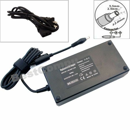 180W AC Adapter Charger For ASUS G75 G75V G75VW ADP-180HB Laptop Power Supply US (Asus G75v Power Adapter)
