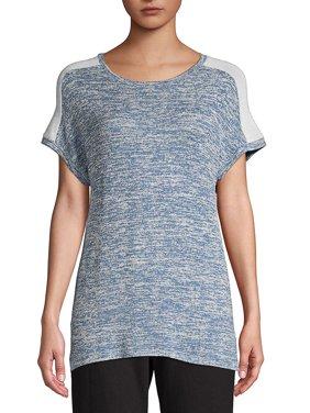 Cap Sleeve Boxy T-Shirt